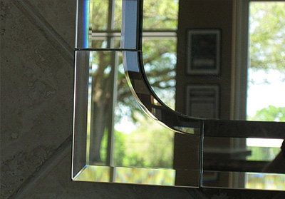 Beveled Mirror Strip