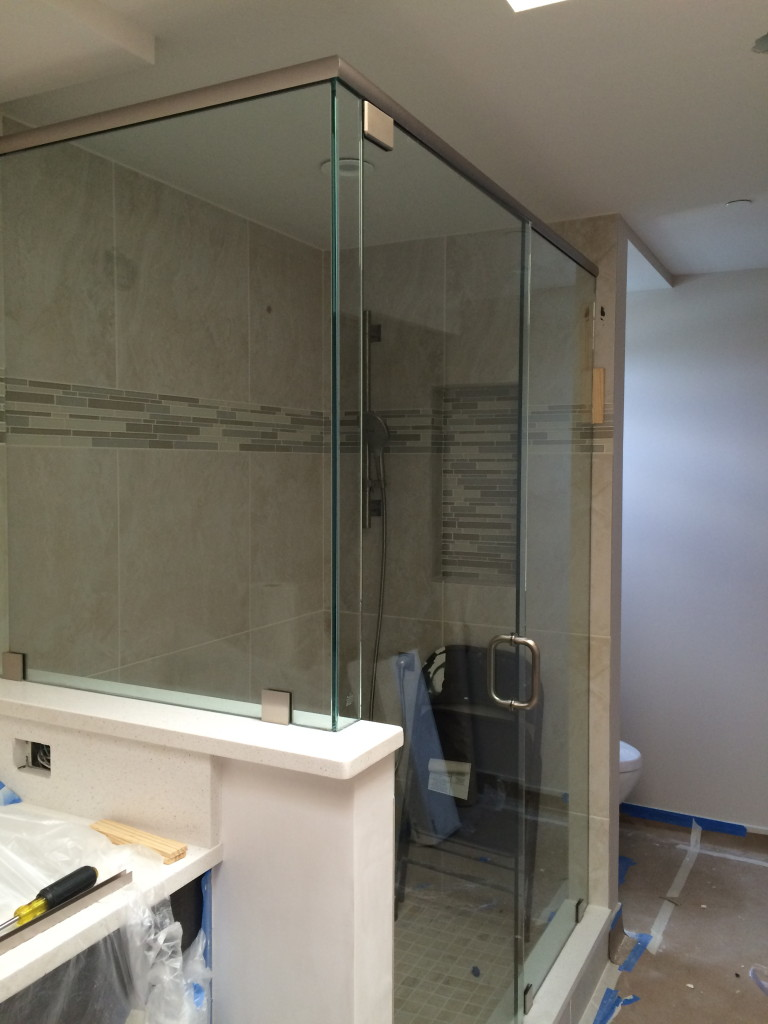 Frameless Shower Enclosure - Sandsprings Development - Pelican Bay