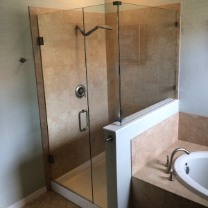 Frameless Shower Enclosure - Bill F. - Naples