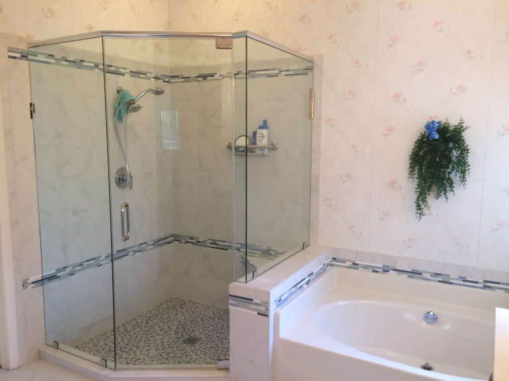 Fort Myers Frameless Shower