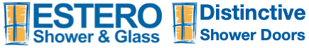 Estero Shower & Glass Distinctive Shower Doors Logo